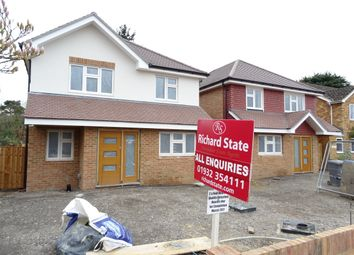 Thumbnail 4 bedroom detached house for sale in Willow Close, Woodham
