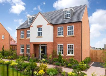 """Thumbnail 5 bedroom detached house for sale in """"Lichfield"""" at Old Derby Road, Ashbourne"""