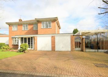 Thumbnail 4 bed detached house for sale in Barlaston Old Road, Trentham, Stoke-On-Trent