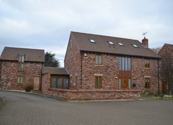 Thumbnail 5 bed detached house for sale in North End Close, Foston, Grantham