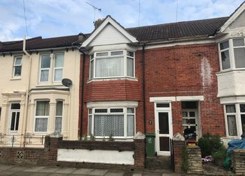 Thumbnail 3 bed terraced house for sale in Claydon Avenue, Southsea