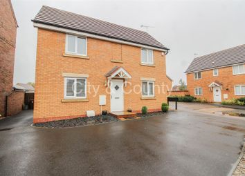Thumbnail 3 bedroom detached house for sale in Caithness Close, Orton Northgate, Peterborough