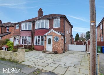 Thumbnail 3 bed semi-detached house for sale in Rutland Road, Hazel Grove, Stockport, Cheshire