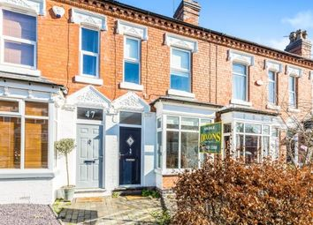 Thumbnail 2 bedroom terraced house for sale in Earls Court Road, Harborne, Birmingham, West Midlands