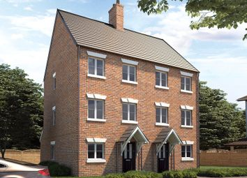 Thumbnail 3 bed town house for sale in James Place, Flitwick