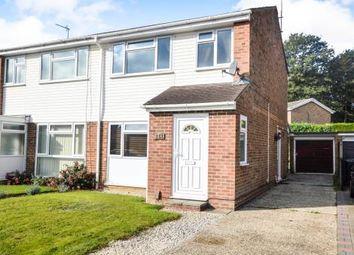 Thumbnail 3 bed semi-detached house for sale in Grasmere Road, Kennington, Ashford, Kent