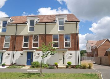 Thumbnail 3 bed terraced house for sale in Holly Blue Mews, Costessey, Norwich