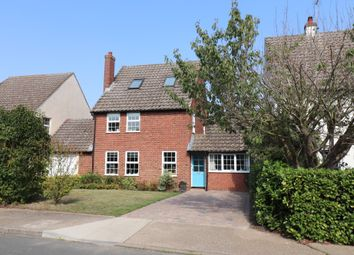 Thumbnail 4 bed link-detached house for sale in Ann Beaumont Way, Hadleigh, Ipswich, Suffolk