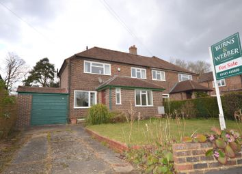 Thumbnail 3 bed semi-detached house for sale in Blackheath Grove, Wonersh, Guildford