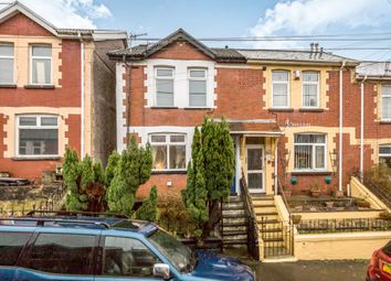 Thumbnail 3 bed terraced house for sale in The Avenue, Pontycymer, Bridgend