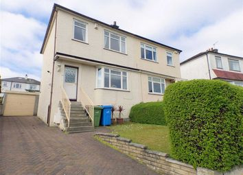Thumbnail 2 bed semi-detached house for sale in Orchard Park Avenue, Giffnock, Glasgow