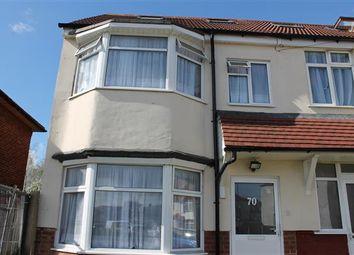 Thumbnail 4 bed semi-detached house to rent in Cranleigh Gardens, Kenton, Harrow