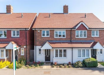 Thumbnail 4 bed semi-detached house for sale in Thirlmere Terrace, Ambleside Avenue, Walton-On-Thames, Surrey
