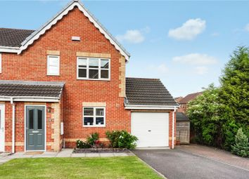 Thumbnail 3 bed semi-detached house for sale in Buckingham Way, Castleford