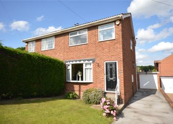 Thumbnail 3 bed semi-detached house for sale in Woodmoor Rise, Crigglestone, Wakefield, West Yorkshire