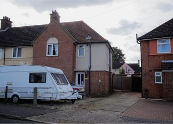 Thumbnail 3 bedroom end terrace house for sale in Romney Road, Ipswich