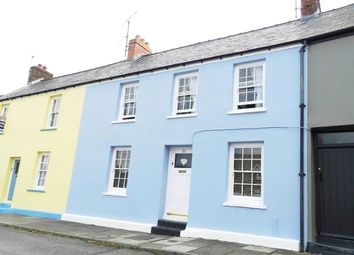 Thumbnail Terraced house for sale in Dew Street, Haverfordwest, Pembrokeshire