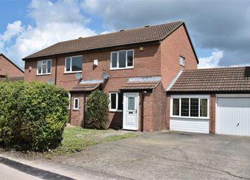 Thumbnail 2 bedroom semi-detached house for sale in Downland, Two Mile Ash, Milton Keynes, Buckinghamshire
