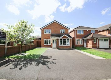 Thumbnail 3 bed detached house for sale in Leyland Avenue, Hindley, Wigan
