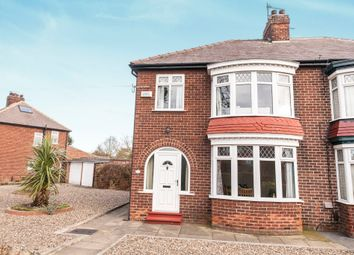 Thumbnail 3 bed semi-detached house for sale in The Avenue, Stockton-On-Tees