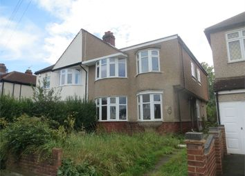 Thumbnail 4 bed semi-detached house for sale in Canterbury Avenue, Sidcup, Kent