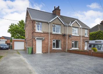 3 bed semi-detached house for sale in Larch Road, New Ollerton, Newark NG22