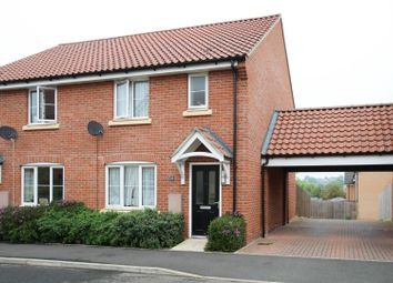 Thumbnail 3 bed end terrace house to rent in Horace Eves Close, Withersfield Road, Haverhill