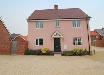 Thumbnail 3 bed semi-detached house for sale in Reeds Way, Loddon, Norwich
