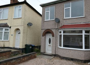 Thumbnail 3 bedroom property to rent in Meadow Road, Coventry
