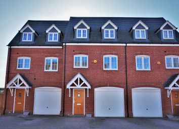 Thumbnail 3 bed town house for sale in Woodpecker Gardens, Wixams