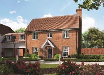 Thumbnail 4 bed link-detached house for sale in Talbot, Station Road, Campsea Ashe, Woodbridge