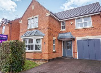 Thumbnail 4 bed detached house for sale in Riverstone Way, Northampton