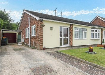 Thumbnail 2 bed semi-detached bungalow for sale in Meadow Close, Panfield, Braintree