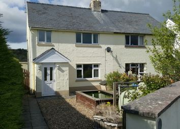 Thumbnail 3 bed semi-detached house for sale in Penrhiwllan, Llandysul, Carmarthenshire