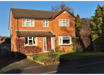 Thumbnail 4 bedroom detached house for sale in Stanley Close, Derby