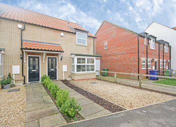 Thumbnail 3 bedroom semi-detached house for sale in Rectory Park, Sturton By Stow, Lincoln