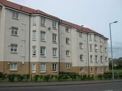 Thumbnail 2 bed flat to rent in Burte Court, Bellshill