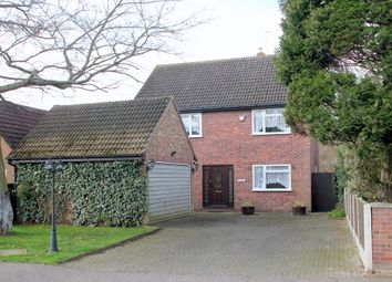 Thumbnail 4 bed detached house for sale in Wood Lane, Fordham Heath, Colchester