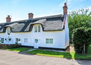 Thumbnail 2 bedroom end terrace house for sale in The Row, Weeting, Brandon