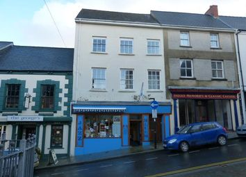 Thumbnail Retail premises for sale in Music Shop & Flats, Market Street, Haverfordwest, Pembrokeshire