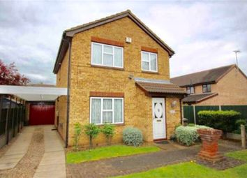 Thumbnail 4 bed detached house for sale in Trevino Drive, Leicester