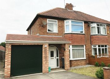 Thumbnail 3 bed semi-detached house to rent in Newland Park Drive, Hull Road, York