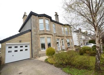 Thumbnail 3 bed semi-detached house for sale in Whitehill Avenue, Stepps, Glasgow