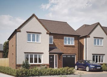 Thumbnail 4 bedroom detached house for sale in The Acres, Acresford Road, Overseal, Derbyshire