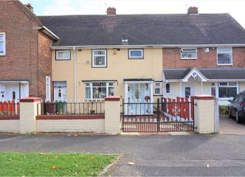 Thumbnail 3 bedroom terraced house for sale in Roebuck Road, Walsall