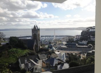 Thumbnail 1 bed flat to rent in Braddons Cliffe, Braddons Hill Road East, Torquay