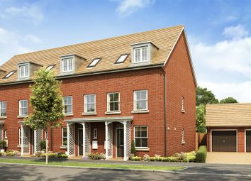 Thumbnail 3 bed town house for sale in Kingsbrook, Broughton, Aylesbury