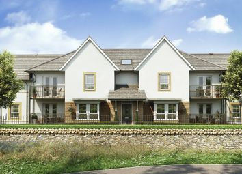 "Thumbnail 2 bed flat for sale in ""Foxton"" at Kergilliack Road, Falmouth"