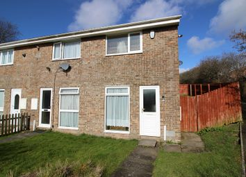 Thumbnail 2 bed end terrace house to rent in Cae Ffynnon, Brackla, Bridgend.