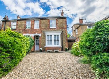 Thumbnail 4 bed semi-detached house for sale in Queens Road, Hertford, Hertfordshire